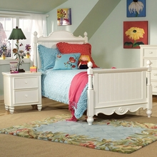 Beach Cottage Scroll Bed
