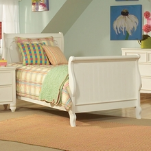 Beach Cottage Sleigh Bed