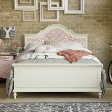 Chloe Bed with Ornate Headboard
