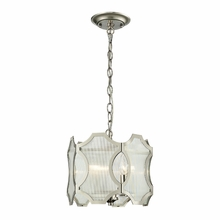 Benicia Pendant In Polished Nickel