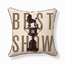 Best in Show Reversible Throw Pillow