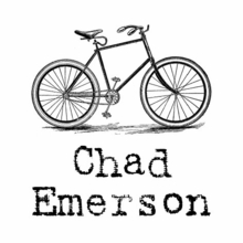 Bicycle Personalized Self-Inking Stamp