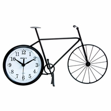 Bike Silhouette Wall and Table Clock