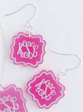 Birdie Arabesque Acrylic Earrings