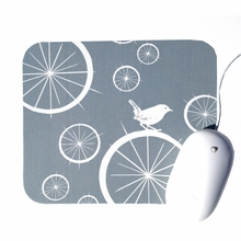 Birds and Bicycle Wheels Mouse Pad