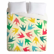 Birds Multicolor Lightweight Duvet Cover