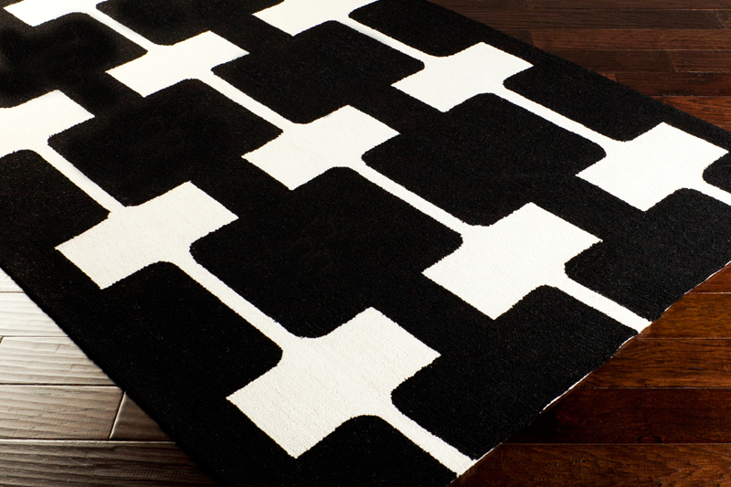 Microfiber bathroom rugs - Black And White Bath Rugs Newhairstylesformen2014 Com