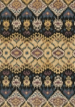 Black Light Gold Leyda Rug