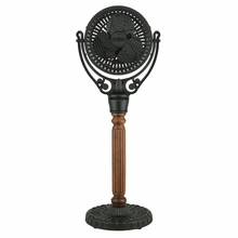 Black Old Havana Floor Fan