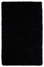 Black Posh Shag Rug