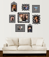 Black Wall Sticker Frame Set