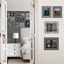 Black & White Frame Peel & Stick Wall Decals