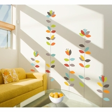 Blomendaal Colorful Blossoms Transfer Wall Decals