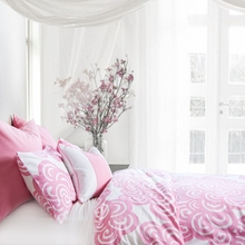 Bloom Duvet Cover in Petal Pink