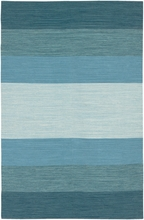 Blue Ombre India Rug
