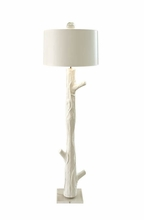 Blum Faux Wood Floor Lamp