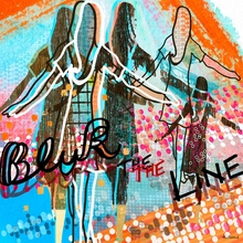 Blur the Line Canvas Wall Art