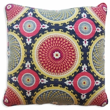 Bohemia Red Throw Pillow
