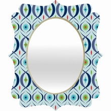 Boogaloo Jewel Quatrefoil Mirror