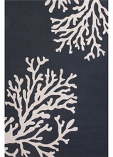 Bough Out Rug in Majolica Blue