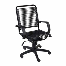 Bradley Bungie Office Chair in Black and Graphite Black