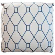 Brent Blue Throw Pillow