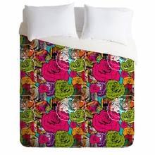 Bright Roses Lightweight Duvet Cover