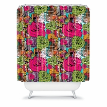 Bright Roses Shower Curtain
