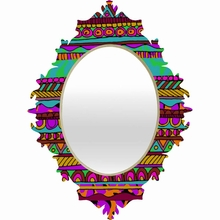 Bright Tribal Baroque Mirror