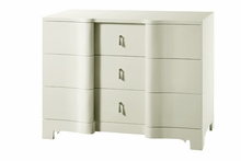 Brigitte Large 3-Drawer Dresser - White