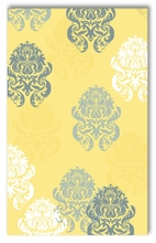 Brocade Yellow Rug