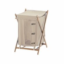 Bubo Laundry Hamper in Beige