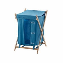 Bubo Laundry Hamper in Blue