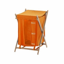 Bubo Laundry Hamper in Orange
