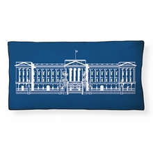 Buckingham Palace Reversible Throw Pillow