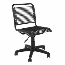 Bungie Low Back Office Chair in Black and Graphite Black