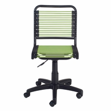 Bungie Low Back Office Chair in Green and Graphite Black