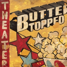 Butter Topped Theater Popcorn Canvas Wall Art