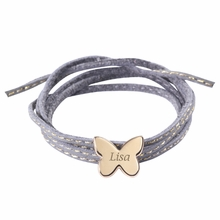 Butterfly Amazon Bracelet in Gold Plated