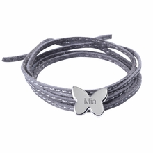 Butterfly Amazon Bracelet in Silver