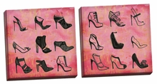 Buy the Shoes 1, 2 Canvas Wall Art Set