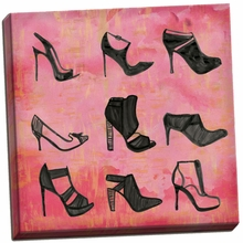 Buy the Shoes 1 Canvas Wall Art