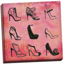 Buy the Shoes 2 Canvas Wall Art