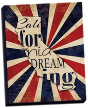 California Dreaming Canvas Wall Art