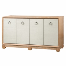 Arthur 4-Door Cabinet - Natural