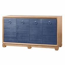 Arthur 4-Door Cabinet - Navy