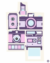 Cameras Canvas Wall Art