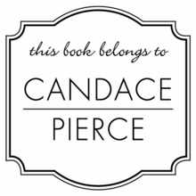Candace Personalized Self-Inking Stamp