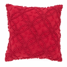 Candlewick Crimson Pillow