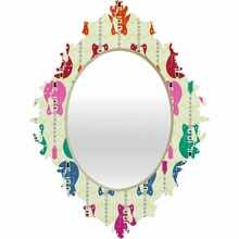 Candy Rock Baroque Mirror
